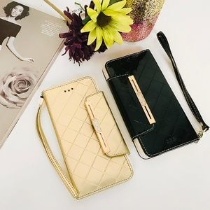 Two Bling Folio Style iPhone 6 Plus Case